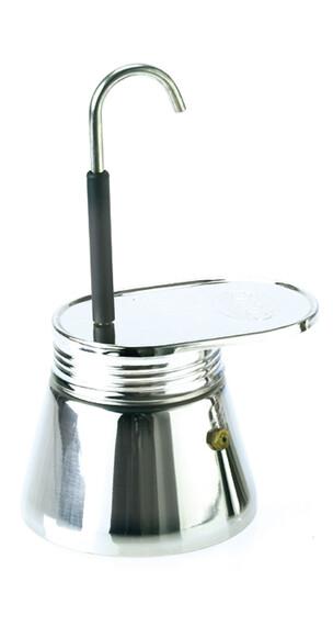 GSI Espresso Maker Edelstahl 4 Tassen